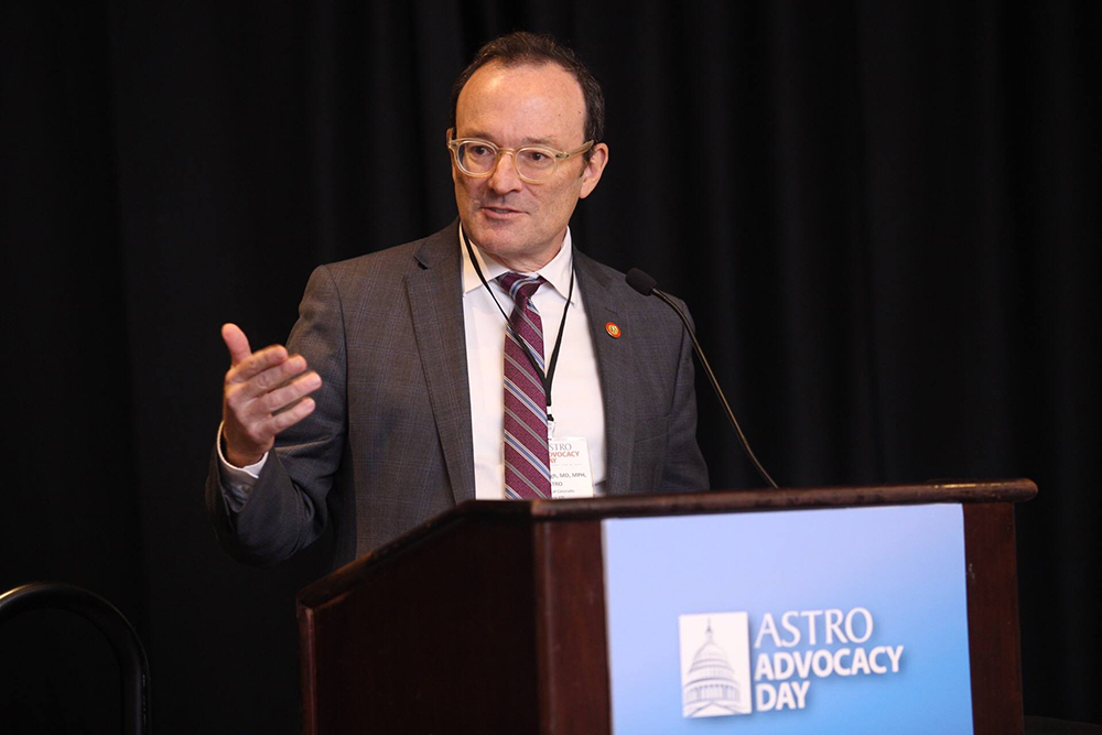 Dr. Brian Kavanagh at ASTRO Advocacy Day 2018